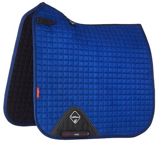 LeMieux ProSport Suede Dressage Square Benetton Blue-full Size